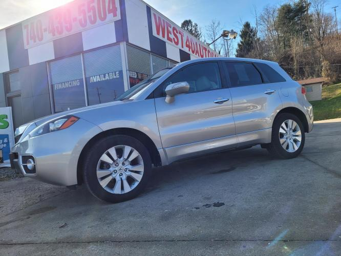2010 SILVER Acura RDX 5-Spd AT SH-AWD (5J8TB1H22AA) with an 2.3L L4 DOHC 16V engine, Automatic transmission, located at 250 Glenn Highway, Cambridge, OH, 43725, (740) 439-5504, 39.994991, -81.716339 - Photo #0