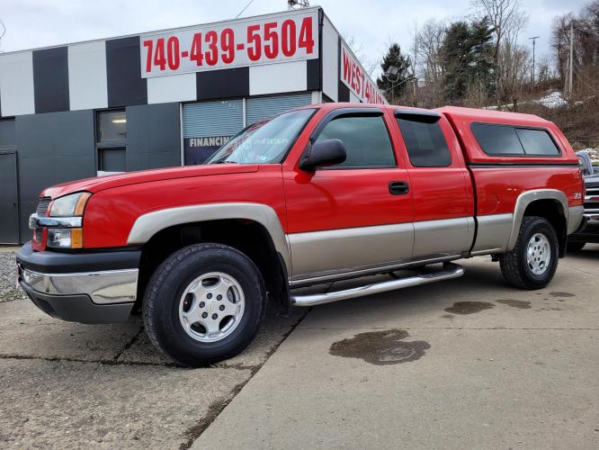 2003 Chevrolet Silverado 1500 Ext. Cab Long Bed 4WD