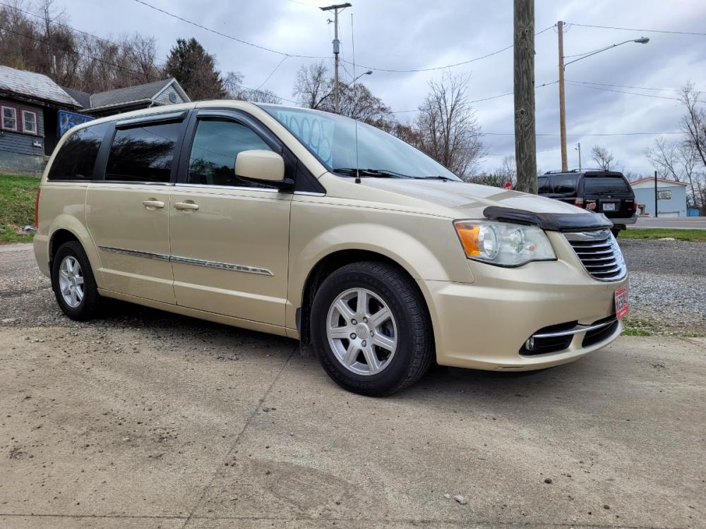 2011 TAN Chrysler Town & Country Touring (2A4RR5DG0BR) with an 3.6L V6 DOHC 24V engine, Automatic transmission, located at 250 Glenn Highway, Cambridge, OH, 43725, (740) 439-5504, 39.994991, -81.716339 - Photo #0