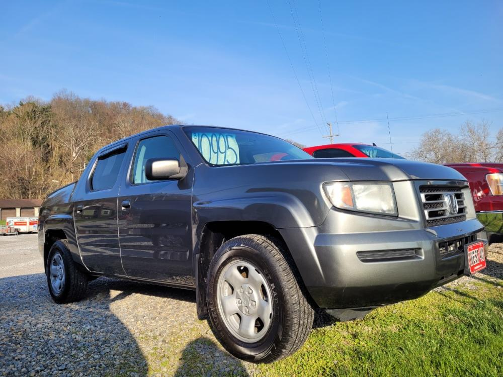 2008 GRAY Honda Ridgeline RT (2HJYK16258H) with an 3.5L V6 SOHC 24V engine, Automatic transmission, located at 250 Glenn Highway, Cambridge, OH, 43725, (740) 439-5504, 39.994991, -81.716339 - Photo #0