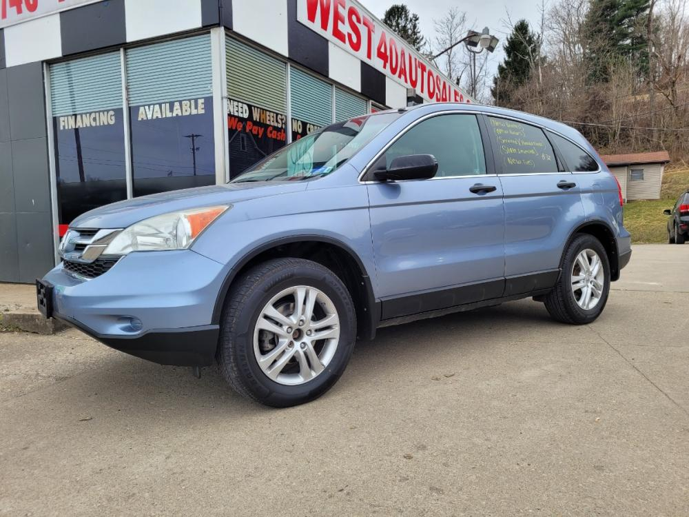2011 BLUE Honda CR-V EX 4WD 5-Speed AT (3CZRE4H5XBG) with an 2.4L L4 DOHC 16V engine, Automatic transmission, located at 250 Glenn Highway, Cambridge, OH, 43725, (740) 439-5504, 39.994991, -81.716339 - Photo #0
